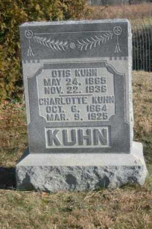 KUHN, CHARLOTTE - Hocking County, Ohio | CHARLOTTE KUHN - Ohio Gravestone Photos