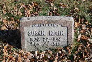 KUHN, SUSAN - Hocking County, Ohio | SUSAN KUHN - Ohio Gravestone Photos