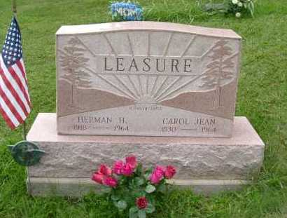 LEASURE, HERMAN H. - Hocking County, Ohio | HERMAN H. LEASURE - Ohio Gravestone Photos