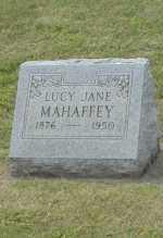 MAHAFFEY, LUCY JANE - Hocking County, Ohio | LUCY JANE MAHAFFEY - Ohio Gravestone Photos