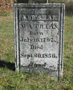 MATHIAS, ABRAHAM - Hocking County, Ohio | ABRAHAM MATHIAS - Ohio Gravestone Photos