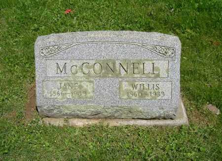 MCCONNELL, JANE - Hocking County, Ohio | JANE MCCONNELL - Ohio Gravestone Photos