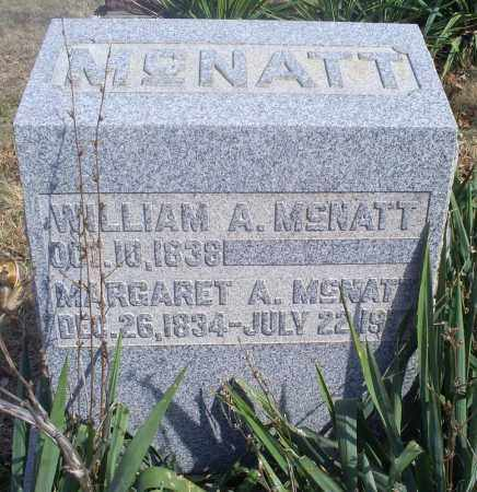 MCNATT, MARGARET A. - Hocking County, Ohio | MARGARET A. MCNATT - Ohio Gravestone Photos