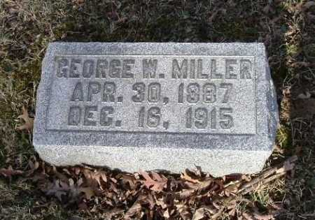 MILLER, GEORGE W. - Hocking County, Ohio | GEORGE W. MILLER - Ohio Gravestone Photos