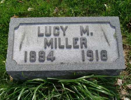 MILLER, LUCY M. - Hocking County, Ohio | LUCY M. MILLER - Ohio Gravestone Photos