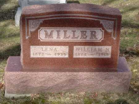MILLER, WILLIAM N. - Hocking County, Ohio | WILLIAM N. MILLER - Ohio Gravestone Photos