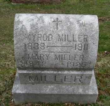 MILLER, MYROD - Hocking County, Ohio | MYROD MILLER - Ohio Gravestone Photos