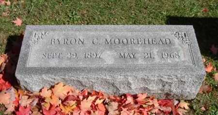 MOOREHEAD, BYRON C. - Hocking County, Ohio | BYRON C. MOOREHEAD - Ohio Gravestone Photos