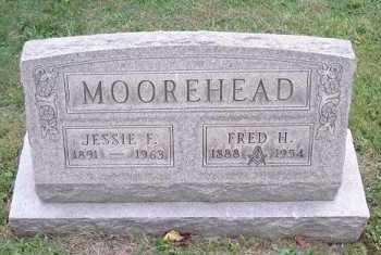 MOOREHEAD, JESSIE F. - Hocking County, Ohio | JESSIE F. MOOREHEAD - Ohio Gravestone Photos