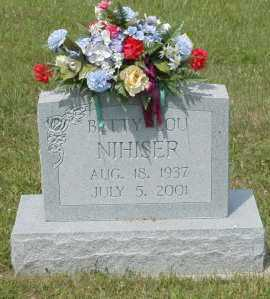 NIHISER, BETTY LOU - Hocking County, Ohio | BETTY LOU NIHISER - Ohio Gravestone Photos