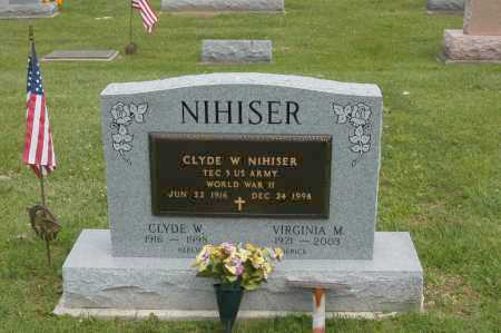 NIHISER, VIRGINIA M - Hocking County, Ohio | VIRGINIA M NIHISER - Ohio Gravestone Photos