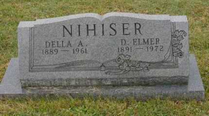 NIHISER, D. ELMER - Hocking County, Ohio | D. ELMER NIHISER - Ohio Gravestone Photos