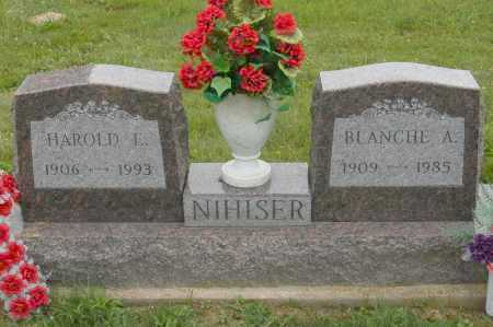 NIHISER, HAROLD E. - Hocking County, Ohio | HAROLD E. NIHISER - Ohio Gravestone Photos