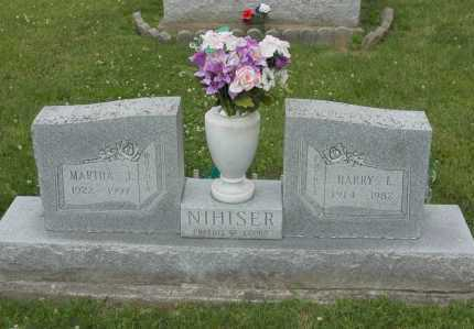 NIHISER, MARTHA J. - Hocking County, Ohio | MARTHA J. NIHISER - Ohio Gravestone Photos