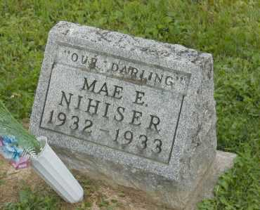 NIHISER, MAE E. ( INFANT ) - Hocking County, Ohio | MAE E. ( INFANT ) NIHISER - Ohio Gravestone Photos