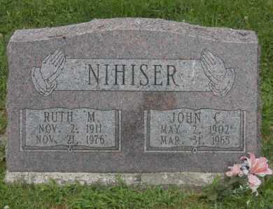 NIHISER, RUTH M. - Hocking County, Ohio | RUTH M. NIHISER - Ohio Gravestone Photos