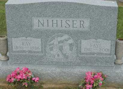 NIHISER, RAY - Hocking County, Ohio | RAY NIHISER - Ohio Gravestone Photos