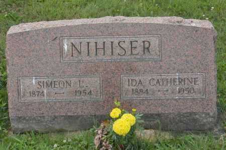 NIHISER, IDA CATHERINE - Hocking County, Ohio | IDA CATHERINE NIHISER - Ohio Gravestone Photos