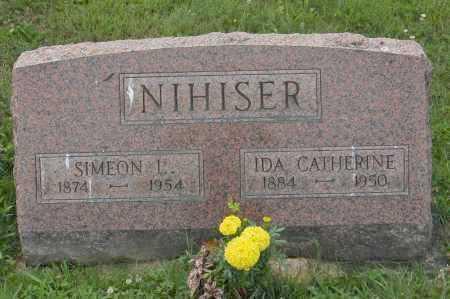 NIHISER, SIMEON L. - Hocking County, Ohio | SIMEON L. NIHISER - Ohio Gravestone Photos