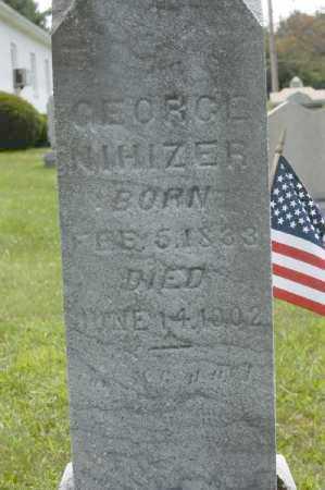 NIHIZER, GEORGE - Hocking County, Ohio | GEORGE NIHIZER - Ohio Gravestone Photos