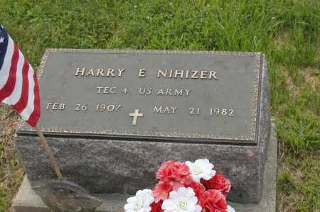 NIHIZER, HARRY E. - Hocking County, Ohio | HARRY E. NIHIZER - Ohio Gravestone Photos