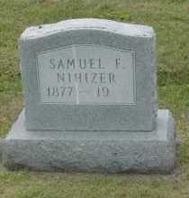 NIHIZER, SAMUEL F. - Hocking County, Ohio | SAMUEL F. NIHIZER - Ohio Gravestone Photos