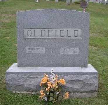 OLDFIELD, CHAUNCEY A. - Hocking County, Ohio | CHAUNCEY A. OLDFIELD - Ohio Gravestone Photos