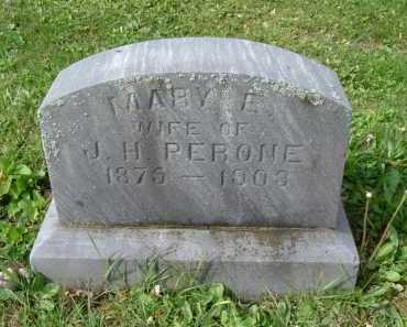 PERONE, MARY E. - Hocking County, Ohio | MARY E. PERONE - Ohio Gravestone Photos
