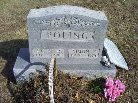 POLING, ETHEL R. - Hocking County, Ohio | ETHEL R. POLING - Ohio Gravestone Photos