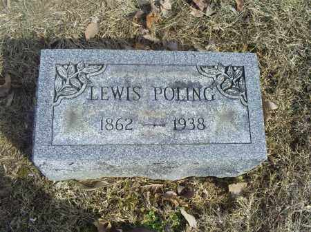 POLING, LEWIS - Hocking County, Ohio | LEWIS POLING - Ohio Gravestone Photos