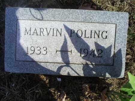 POLING, MARVIN - Hocking County, Ohio | MARVIN POLING - Ohio Gravestone Photos