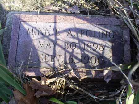 POLING, MINNIE A. - Hocking County, Ohio | MINNIE A. POLING - Ohio Gravestone Photos