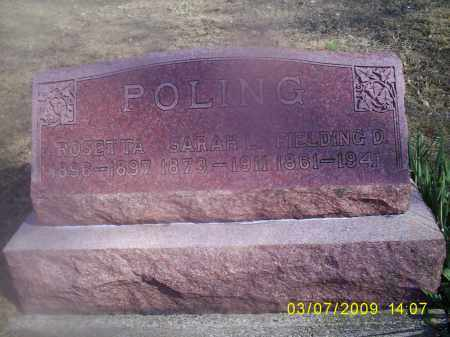 POLING, SARAH L. - Hocking County, Ohio | SARAH L. POLING - Ohio Gravestone Photos