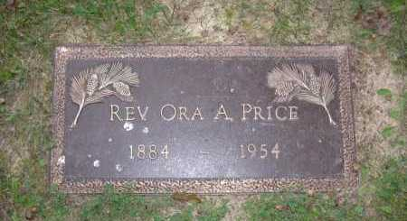 PRICE, REV. ORA A. - Hocking County, Ohio | REV. ORA A. PRICE - Ohio Gravestone Photos