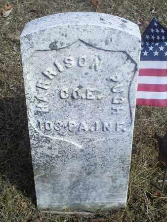PUGH, HARRISON - Hocking County, Ohio | HARRISON PUGH - Ohio Gravestone Photos