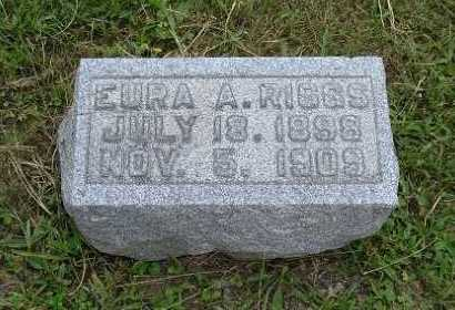 RIGGS, EURA A. - Hocking County, Ohio | EURA A. RIGGS - Ohio Gravestone Photos