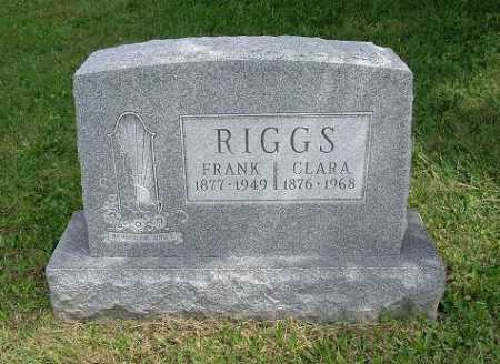 RIGGS, CLARA - Hocking County, Ohio | CLARA RIGGS - Ohio Gravestone Photos