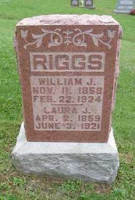 WRIGHT RIGGS, LAURA JANE - Hocking County, Ohio | LAURA JANE WRIGHT RIGGS - Ohio Gravestone Photos