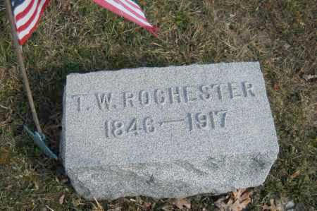 ROCHESTER, T.W. - Hocking County, Ohio | T.W. ROCHESTER - Ohio Gravestone Photos