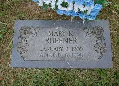 DYARMAN RUFFNER, MARY KATHRYN - Hocking County, Ohio | MARY KATHRYN DYARMAN RUFFNER - Ohio Gravestone Photos