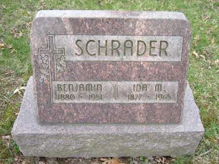 SCHRADER, IDA M. - Hocking County, Ohio | IDA M. SCHRADER - Ohio Gravestone Photos
