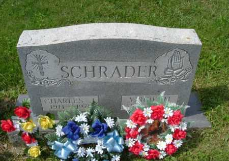 SCHRADER, VIRGIE M. - Hocking County, Ohio | VIRGIE M. SCHRADER - Ohio Gravestone Photos