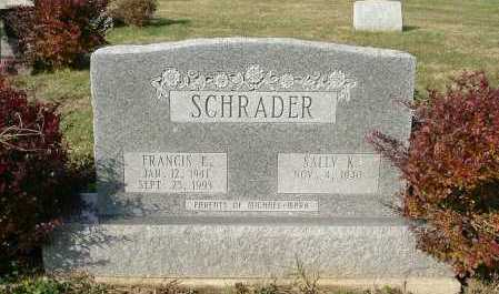SCHRADER, SALLY K. - Hocking County, Ohio | SALLY K. SCHRADER - Ohio Gravestone Photos