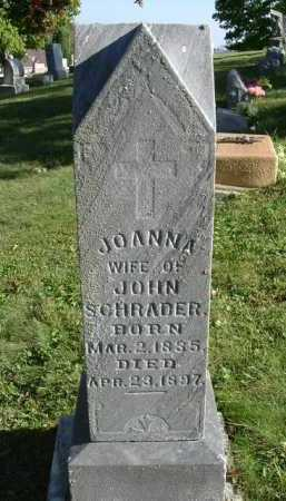 "SCHRADER, JOANNA ""JOANNAHE"" - Hocking County, Ohio 