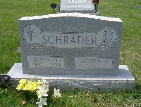 SCHRADER, JOSEPH ORLANDO - Hocking County, Ohio | JOSEPH ORLANDO SCHRADER - Ohio Gravestone Photos
