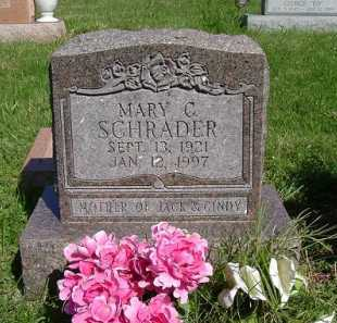 SCHRADER, MARY VIRGINIA - Hocking County, Ohio | MARY VIRGINIA SCHRADER - Ohio Gravestone Photos