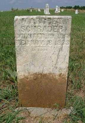 SCHRADER, MARGARET - Hocking County, Ohio | MARGARET SCHRADER - Ohio Gravestone Photos