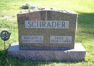SCHRADER, EMMA J. - Hocking County, Ohio | EMMA J. SCHRADER - Ohio Gravestone Photos