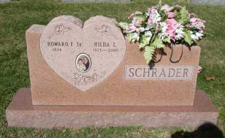 SCHRADER, HILDA L. - Hocking County, Ohio | HILDA L. SCHRADER - Ohio Gravestone Photos