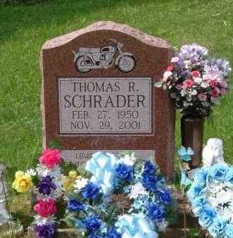 SCHRADER, THOMAS R. - Hocking County, Ohio | THOMAS R. SCHRADER - Ohio Gravestone Photos